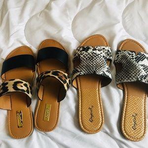Qupid Women Sandals